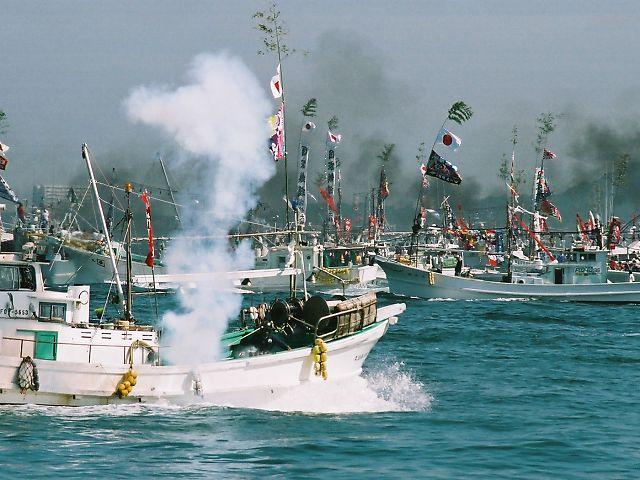 みあれ祭 500隻の海上パレード